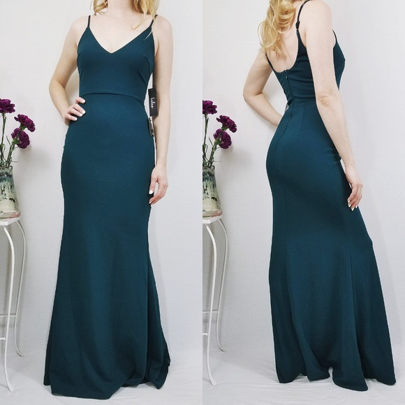8f39e3f483 Infinite Glory Forest Green Maxi Lulus Dress